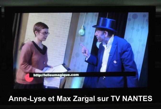 Magie quantique sur TV NANTES