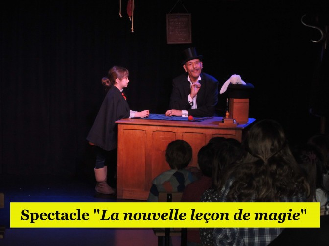 Prolongation du spectacle familial de magie !
