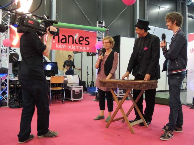 Magie avec Anne-Lyse de TV Nantes