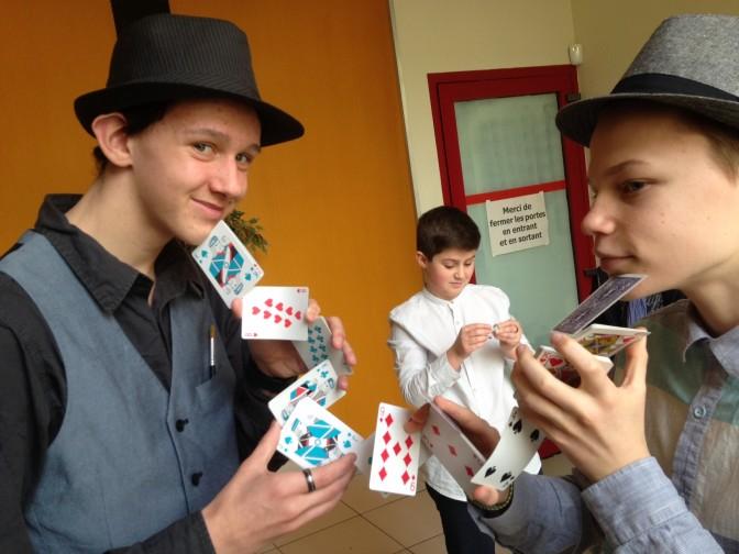 les eleves magiciens a BOUGAINVILLE