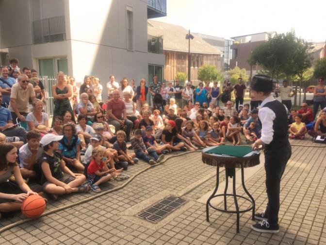 Concours des jeunes magiciens de rue