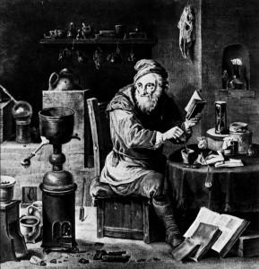 le magicien alchimiste