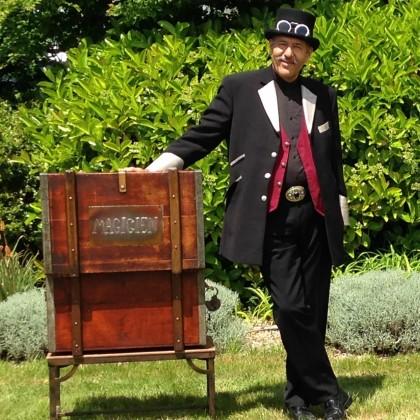 Max Zargal le magicien de rue