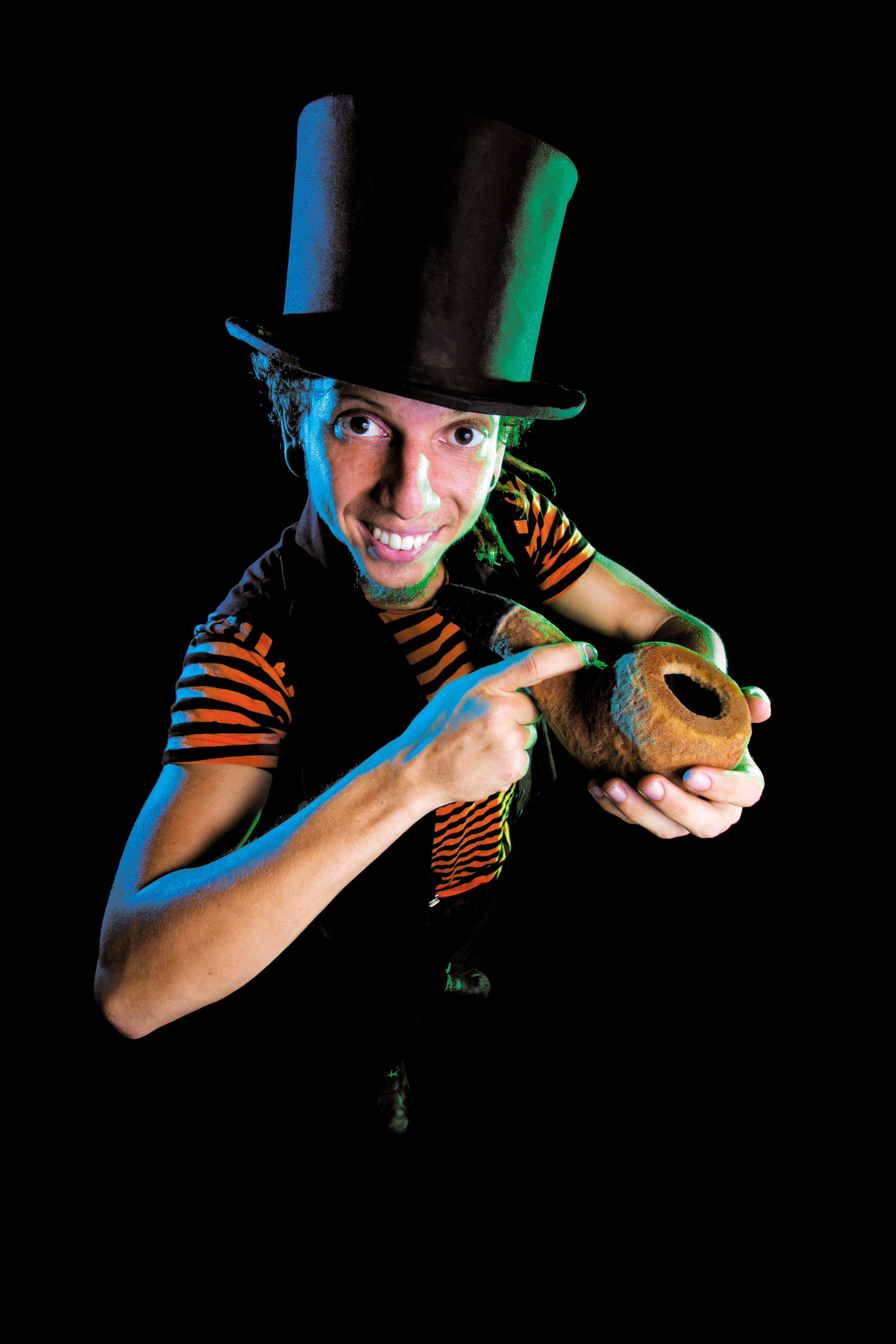 Le magicien brésilien Dan Marques