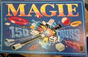 Boite de magie vintage