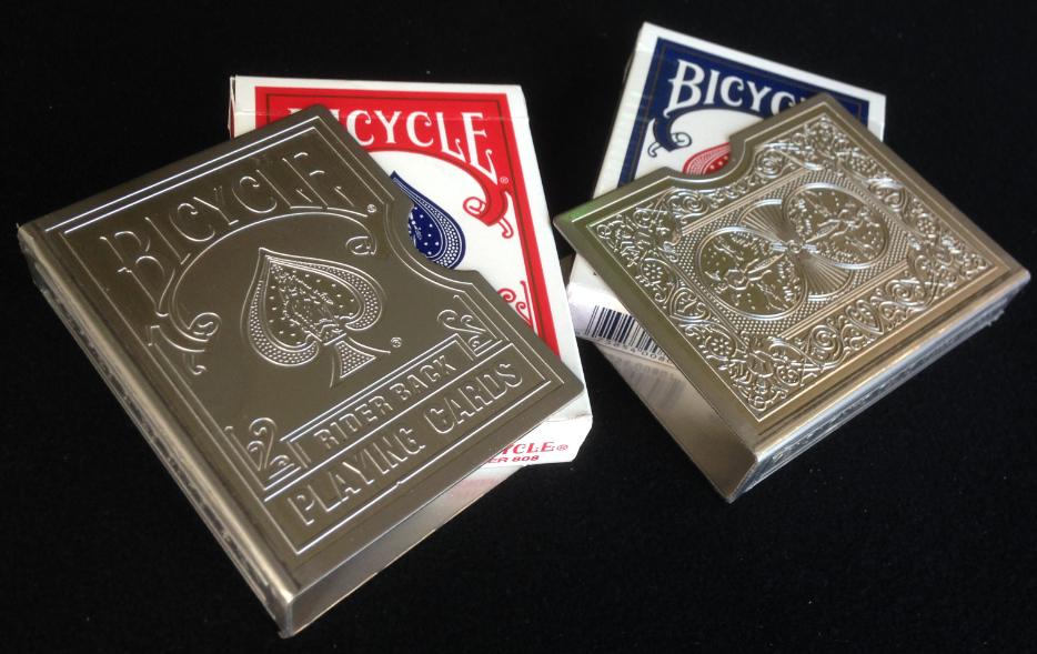 Clips Bicycle en acier gravé