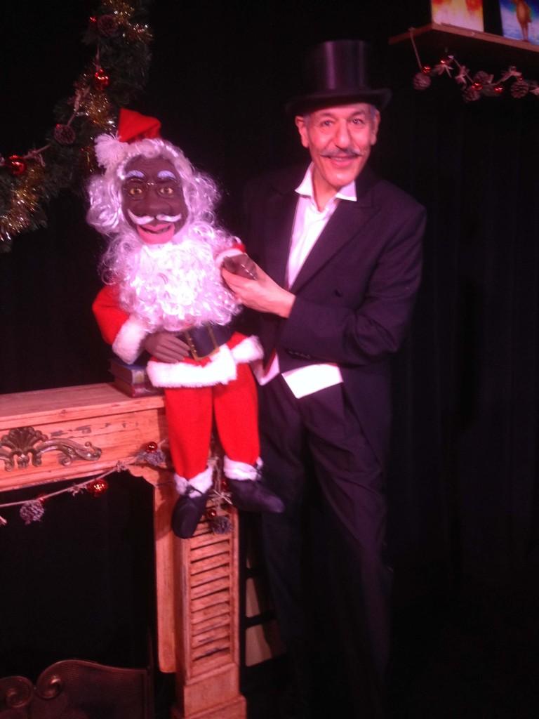 Père Noel en chocolat au Lieu Magique