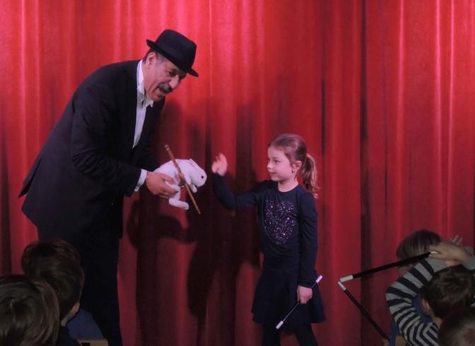Le spectacle de magie pour enfant
