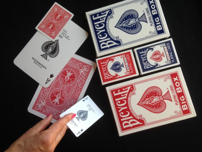 Stage de Magie des cartes