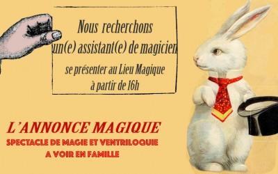 L'ANNONCE MAGIQUE